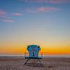 pismo lifeguard tower sunset 6693