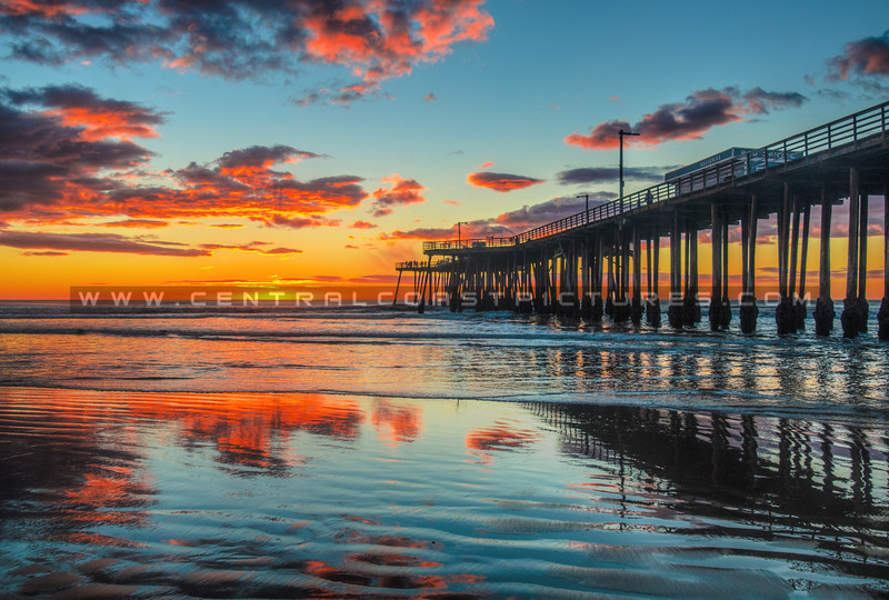 pismo-pier-reflection-sunset-1407