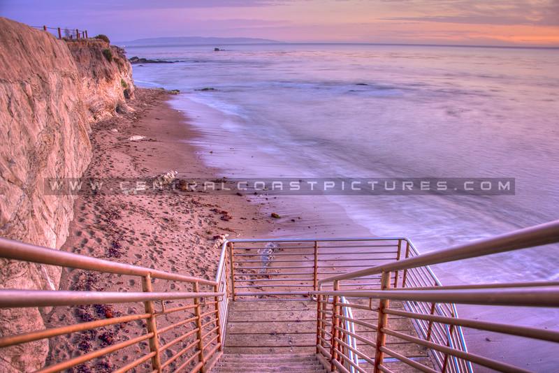 shell beach stairs 1656-