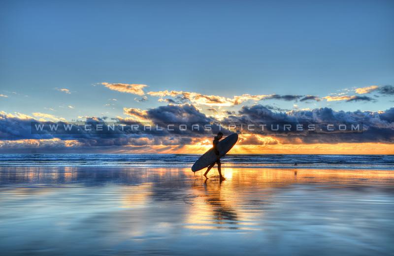 pismo surfer sunrays_2680