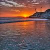 pismo shell beach sunsetting 6009-