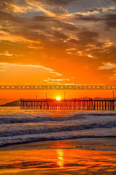 pismo pier sunset-9120