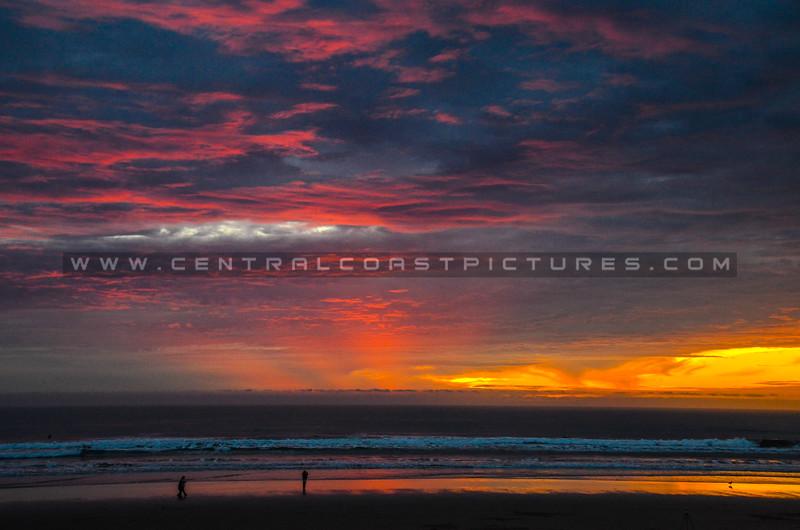 pismo beach sunset-0856