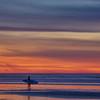 pismo sunset surfer 0580