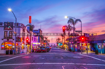 downtown pismo beach night-7693-2