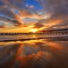 pismo pier sunset_5841