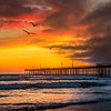 old pismo pier sunset 5958