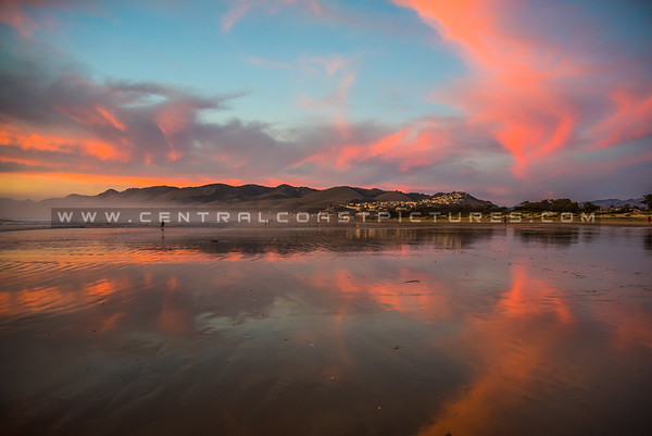 pismo sunset reflections-7380-7399