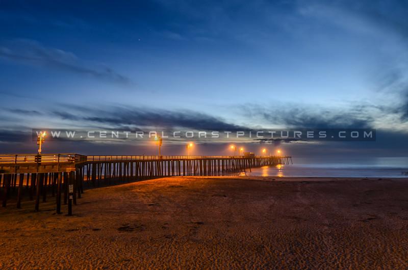 pismo night old pier-8111