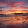 pismo beach pier sunset 1872