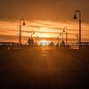 pismo pier sun setting 0488-0488