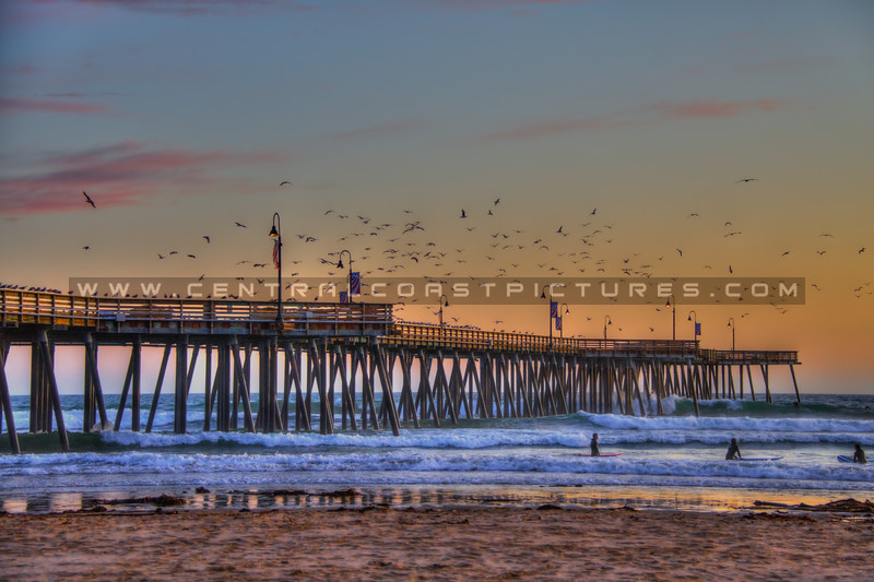 pismo beach pier 0800-