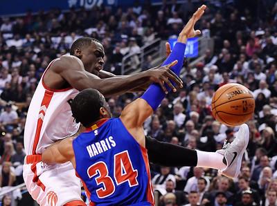 Pistons Raptors Basketball