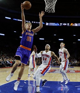 Knicks Pistons Basketball