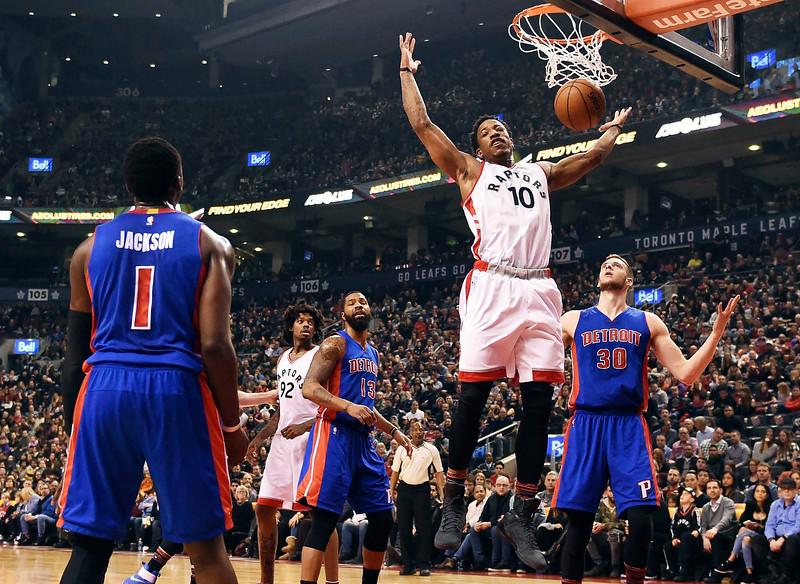 APTOPIX Pistons Raptors Basketball