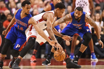Pistons Raptors Basketball