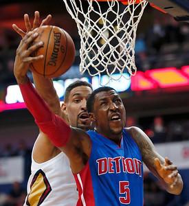 Pistons Pelicans Basketball
