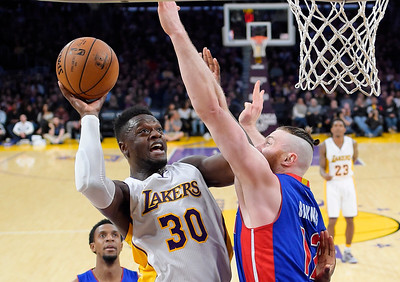 Pistons Lakers Basketball