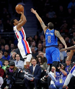 Mavericks Pistons Basketball