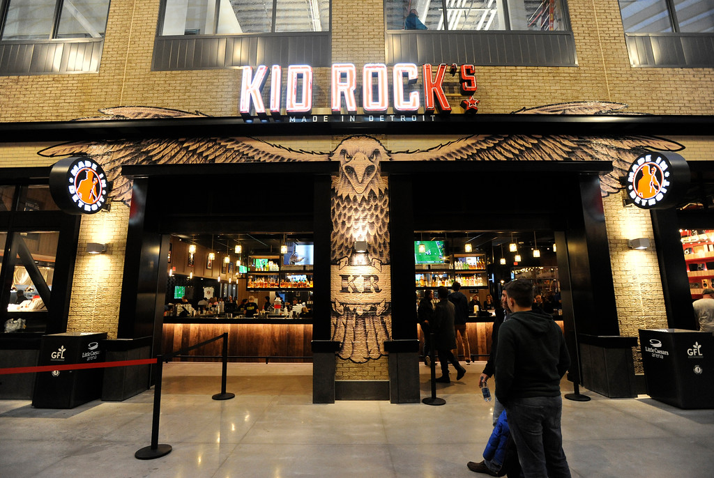 . Kid Rock\'s bar and restaurant at Little Caesars Arena.  Photo taken on Saturday, Nov. 4, 2017 in Detroit.  (Special to The Oakland Press/Jose Juarez)