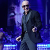 Pitbull  live at DTE on 8-9-2016. Photo credit: Ken Settle