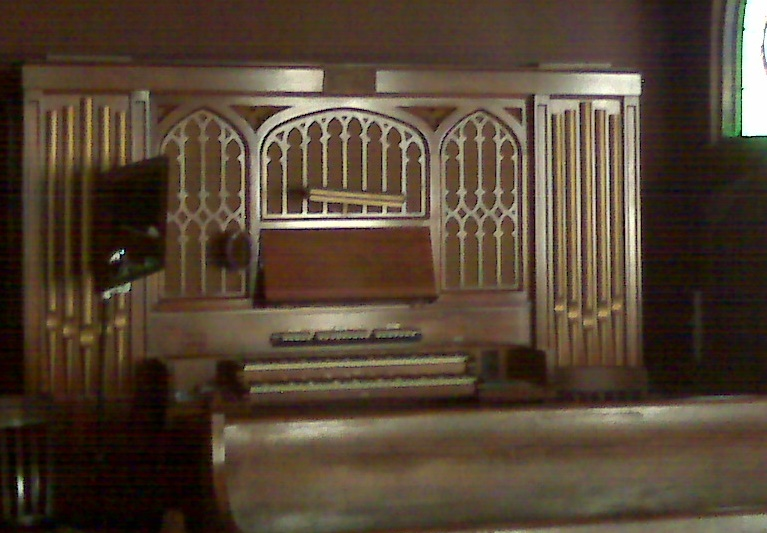 The Origial Organ at our first visit
