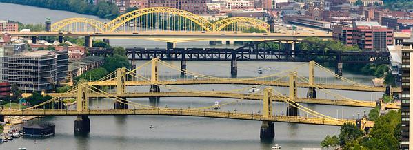 Three Sisters Bridges