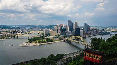 Mt Washington Incline Tram, Pittsburgh PA