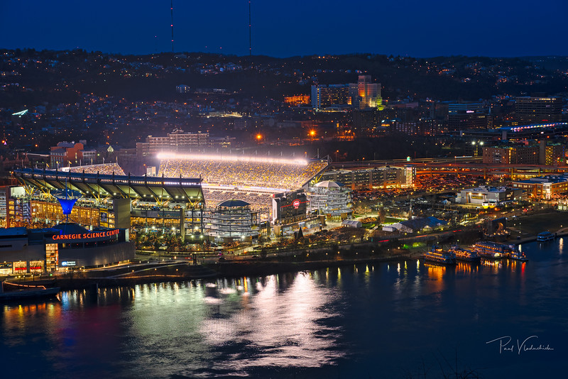 Heinz Field and Pittsburghs North Shore - Pittsburgh Pennsylvania