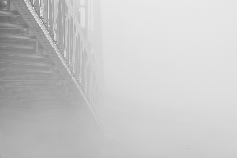 Steel in Fog - Pittsburgh Pennsylvania