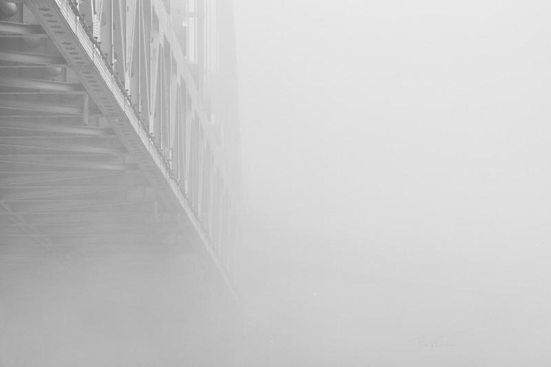 Steel in Fog - Pittsburgh Pennsylvania