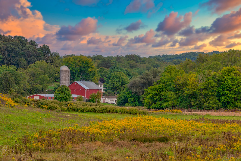 Pennsylvania Farm - Near Pittsburgh Pennsylvania