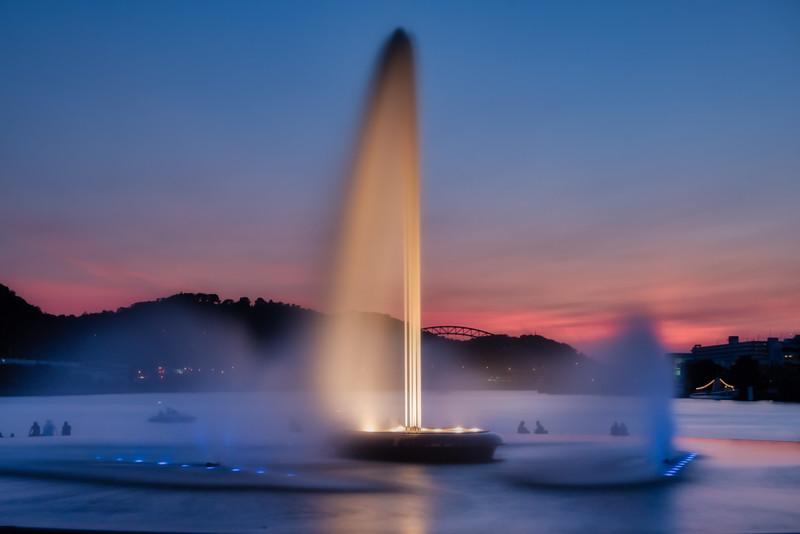 Point State Park Fountain - Pittsburgh Pennsylvania