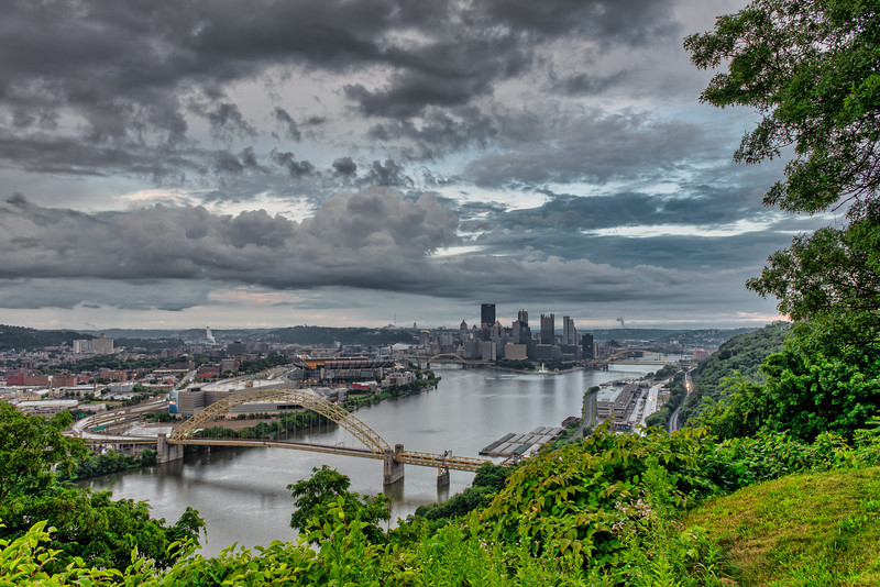 The Rain Moved On - Pittsburgh Pennsylvania