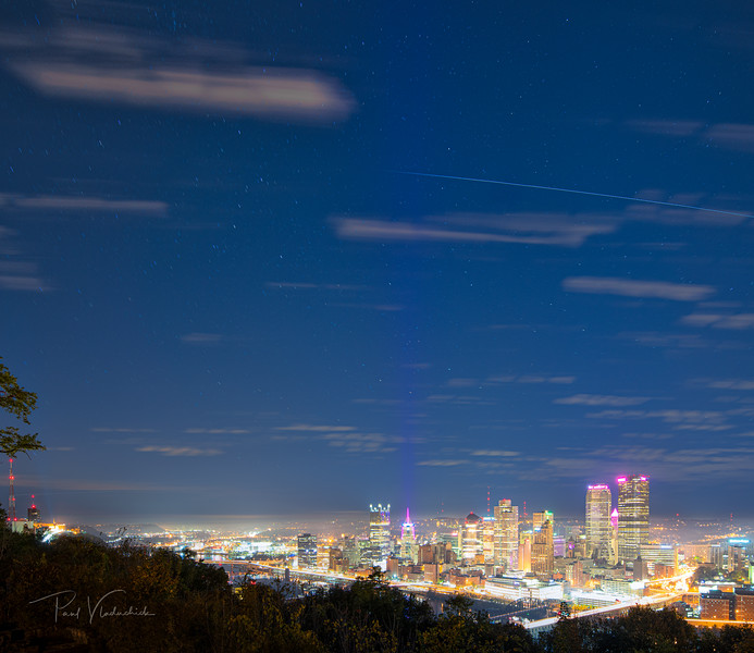 ISS Flyover Pittsburgh - October 2019