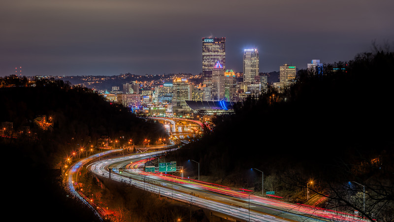 Pittsburgh from the North (Take II), Pittsburgh, Pennsylvania