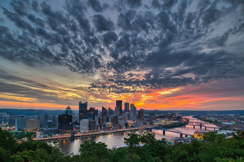 Pittsburgh Sunrise - 8/14/2020