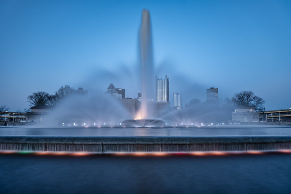 The Fountain at the Point - Pittsburgh Pennsylvania