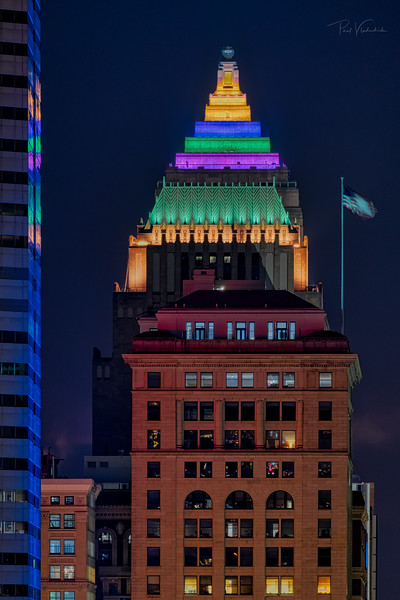 The Frick Building, The Koppers and Gulf Towers - Pittsburgh Pennsylvnaia