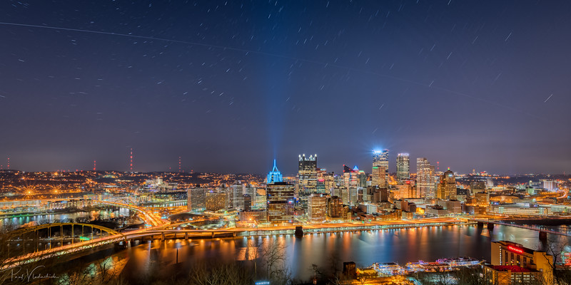 The International Space Station Flying over Pittsburgh
