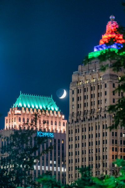 Koppers, Gulf and the Moon - Pittsburgh Pennsylvania
