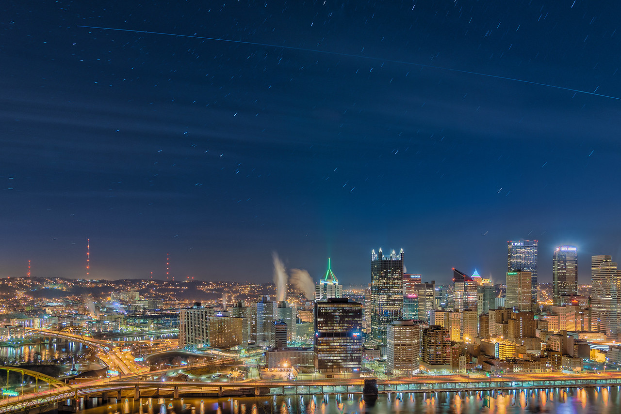 International Space Station Flyover - Pittsburgh Pennsylvania