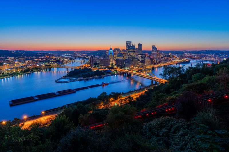 Pittsburgh - Late Summer Dawn