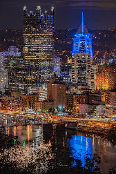 PPG Place and the Highmark Building - Pittsburgh Pennsylvania