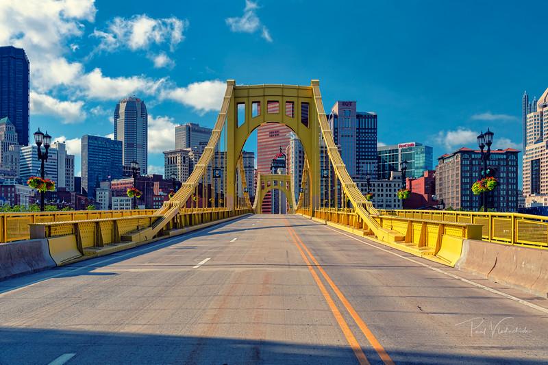 Andy Warhol Bridge - Pittsburgh Pennsylvania