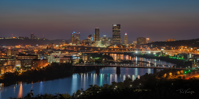 Pittsburgh from the East