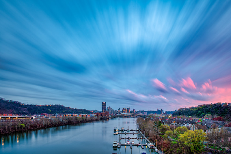 Dynamic Sky over Pittsburgh