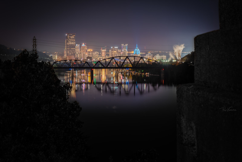 40th Street Bridge View - Pittsburgh Pennsylvania