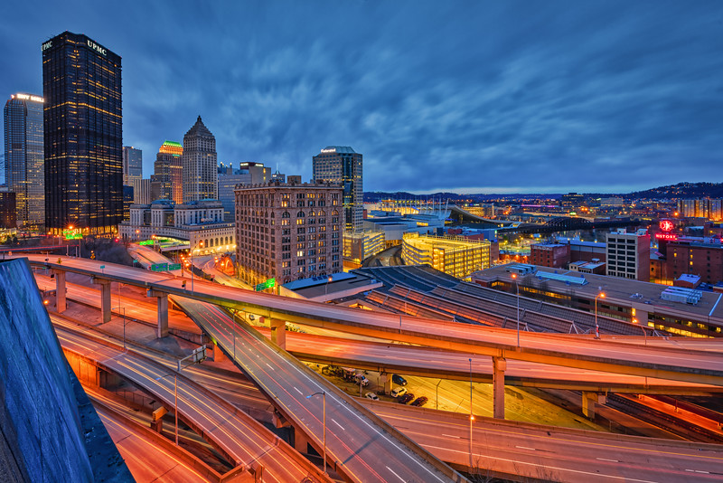 Concrete Arteries of the City - Pittsburgh Pennsylvania