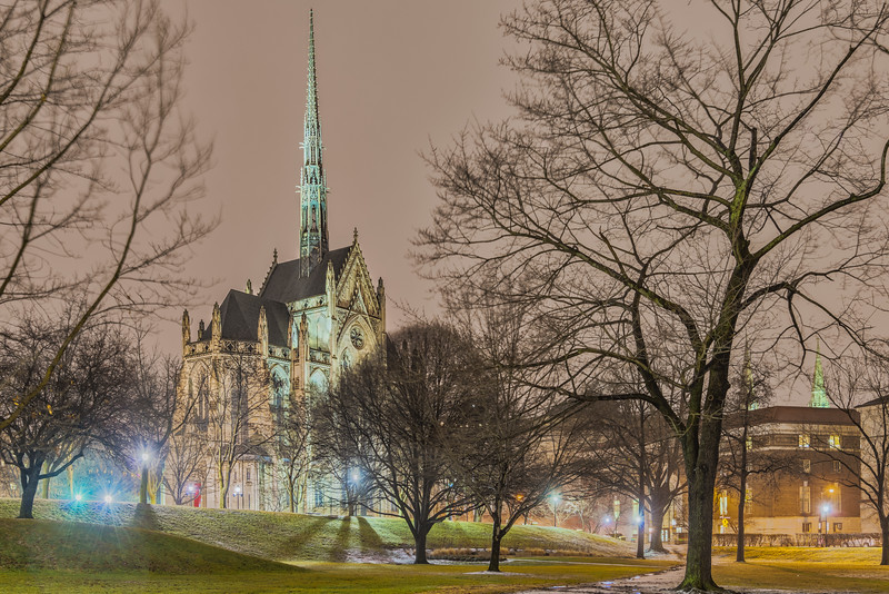 Heinz Chapel at Night